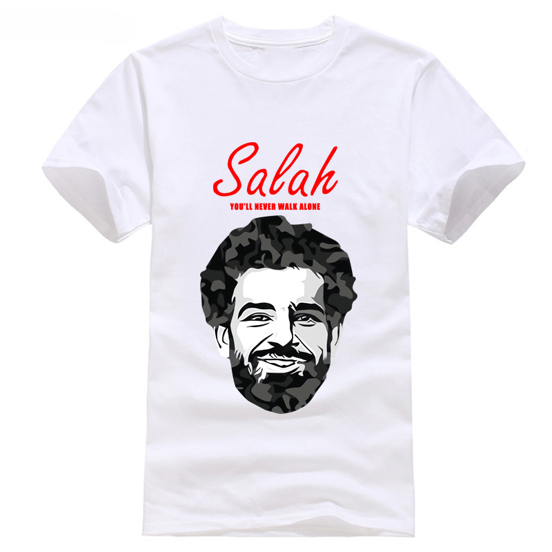 2018 new fishion salah liverpool footballer european programs games league t shirt cup new world tops champions