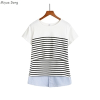 Maternity Nursing Tops Breastfeeding Clothes Breast Feeding Tops Pregnancy Shirt For Pregnant Women Clothing Mother Wear