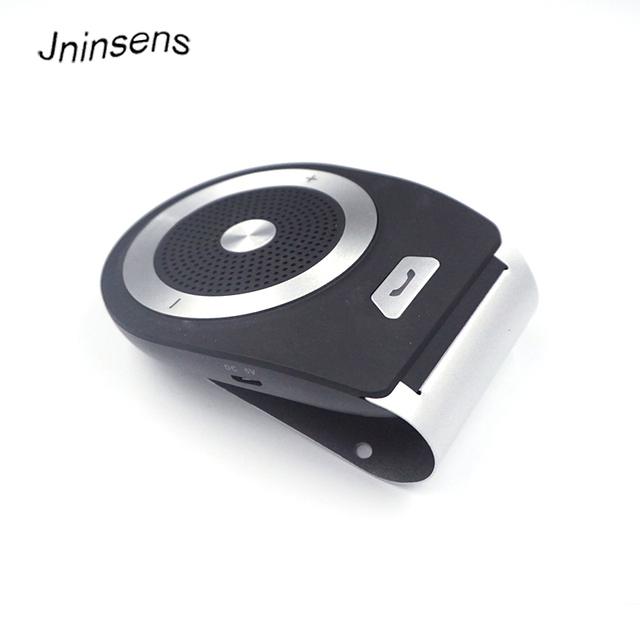 8106cf7c2ec High Quality Portable Mini Wireless Handsfree In Car Bluetooth Speakerphone  Car Kit With Mic For Car