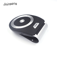 High Quality Portable Mini Wireless Handsfree In Car Bluetooth Speakerphone Car Kit With Mic For Car Home Office for iPhone