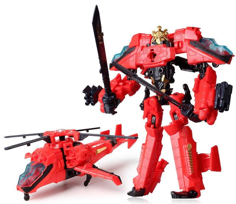 """Лидер продаж 19,5 см модель Трансформация Робот автомобиль экшн игрушки пластиковые игрушки Фигурки игрушки лучший подарок для образования детей 7,5"""" - Цвет: NO.10"""