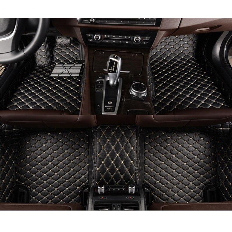 KOKOLOLEE Personnalisé faire de voiture tapis de sol pour Mercedes Benz classe E W211 W212 S211 S212 200 220 250 280 300 320 350 voiture-style