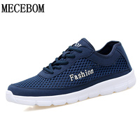 New Summer Fashion Men Casual Shoes Big Size 38 48 Breathable Black Gray Blue Light Trainner