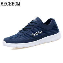 Men shoes summer big size 38-47 light weight comfortable casual shoes breathable black/gray/blue footwear zapato masculino 1703m