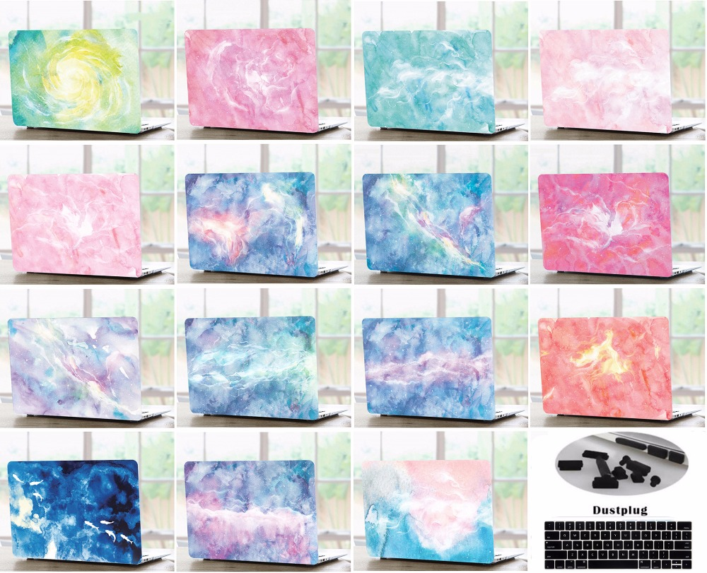 Laptop Hard Shell Case Keyboard Cover Skin Dust Plugs Set For 11 12 13 15 font