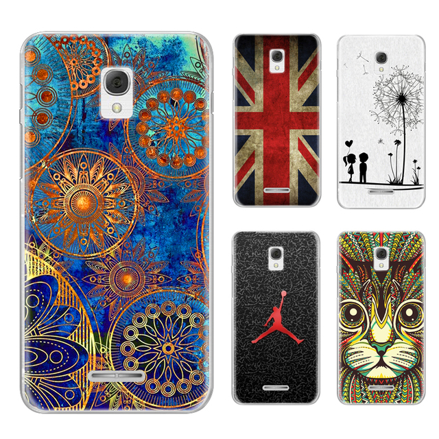the latest 4db1c 63fc3 US $0.99 20% OFF|Phone case For Alcatel Onetouch POP Star 3G OT 5022D Cute  Cartoon High Quality Painted TPU Soft Phone Case Silicone Back Cover-in ...