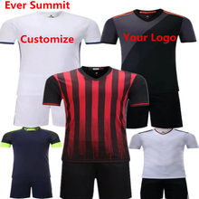 a73329f7 Ever Summit Soccer Jersey S070109 Football Training Sets AC Blank Version Design  Customize Logo DIY Jersey