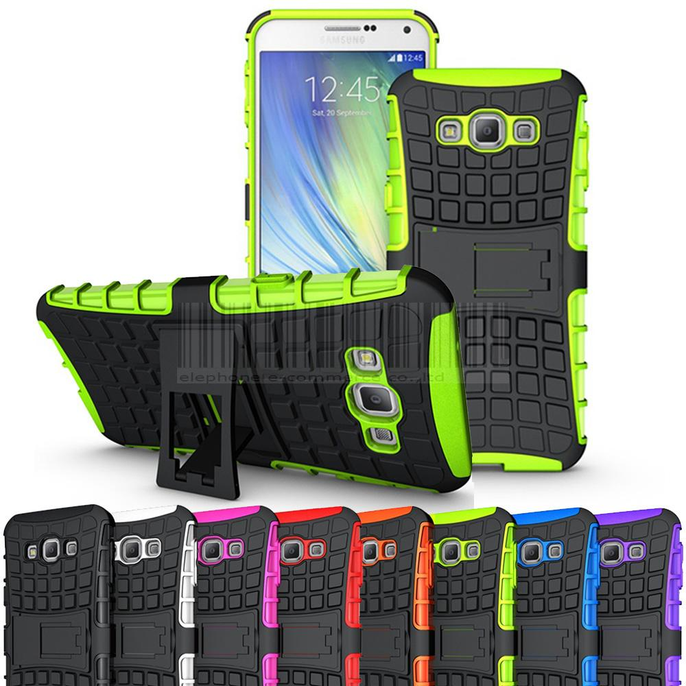 2in1 Gel Case For Galaxy A8 Rugged Hybrid Armor Hard Case Impact Stand Hard Cover For <font><b>Samsung</b></font> Galaxy A8 <font><b>A8000</b></font> 5.7
