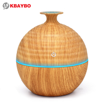 USB Evaporative Humidifie 130ml Aroma Diffuser Essential Oil Diffuser Aromatherapy Mist Maker With 7 Color LED