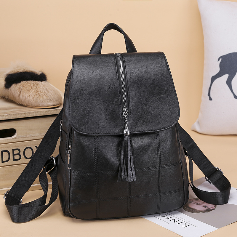 2019 New Arrival Fashion Female School Shoulder Bag Fashion Women Backpack High Quality Youth Leather Backpacks for Teenage Girl2019 New Arrival Fashion Female School Shoulder Bag Fashion Women Backpack High Quality Youth Leather Backpacks for Teenage Girl