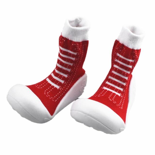 kidadndy anti slip christmas children girl boy infant socks with rubber bottom socks newborn infant socks