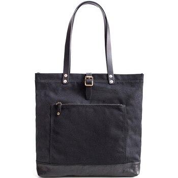 мужская сумка из плотной ткани | AETOO винтажная парусиновая ручная сумка мужская и женская универсальная посылка большая емкость сумка на плечо