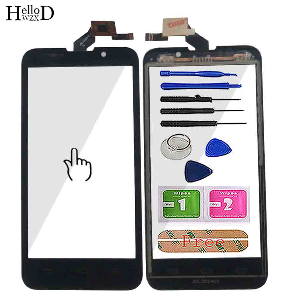 4.5'' Mobile Touch Screen For ZTE V880H Blade G2 Digitizer Panel Touch Screen Repair Parts Sensor Front Glass Tools Adhesive
