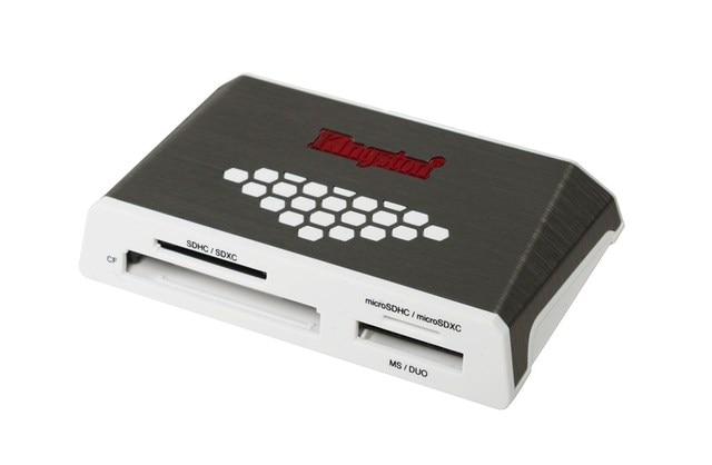 Lector de medios USB 3,0 de alta velocidad, CF, Memoria Stick (MS), microSD (TransFlash) MicroSDHC y MicroSDXC... MS Duo