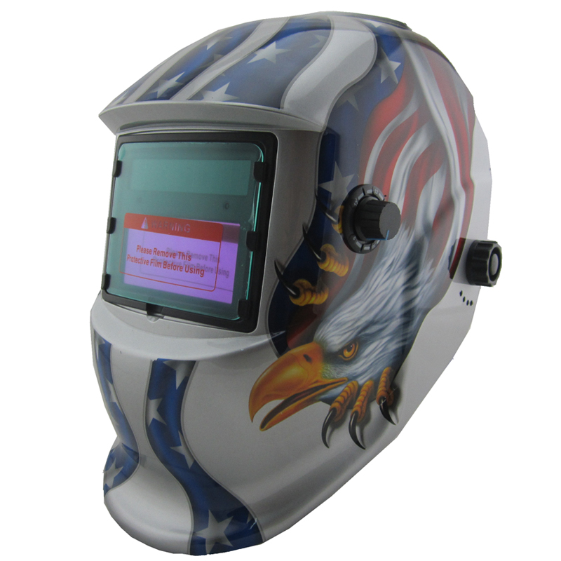 Eagle claws Solar  auto darkening/shading grinding function filter TIG MIG accessories welding mask/welding helmet/protect mask silver gray li battery solar auto darkening shading electric welding mask helmet for welding equipment and plasma cutter machine