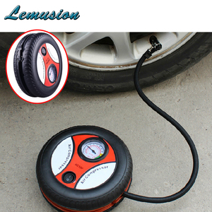 1Pc Car Tire Inflation Pump Tire pressure monitoring for VW polo passat b6 b5 BMW e46 e39 e36 e90 e60 f30 Jeep renegade wrangler(China)