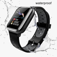 New Waterproof Wristband Smart Watch Heart Rate Blood Pressure Monitor Sports Bracelet Fitness Tracker For iPhone Samsung