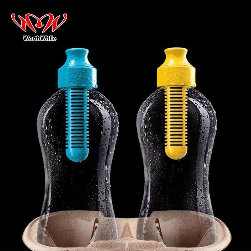Lohnende Wasser Filter Flaschen Aktivkohle Portbale Wasserkocher Sicherheit & Survival Kits für Outdoor Reise Camping Wandern