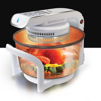 Multifunctional Microwave Oven Frying Pan 12L 17L Halogen Oven Air Fryer 1300w CKY 888