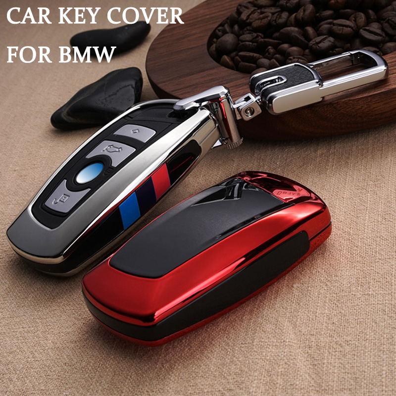 Voiture Key Case Cover pour BMW 520 525 f30 f10 F18 118i 320i 1 3 5 7 Série X3 X4 m3 M4 M5 E34 E90 E60 E36 FOB porte-clés Voiture Style