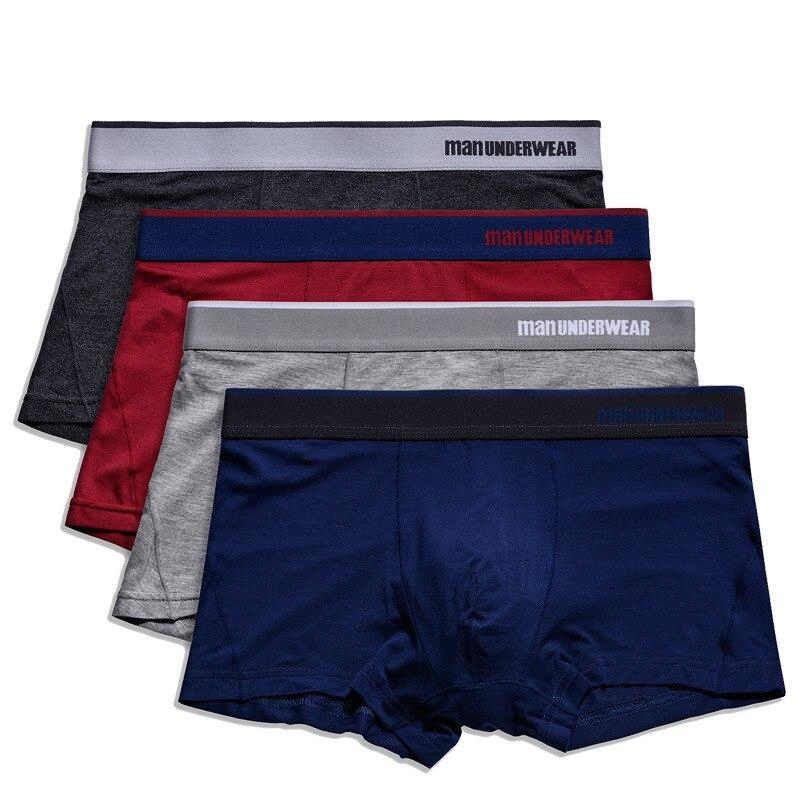 Herrlich 95% Modal Boxer Hervorragende Männer Unterwäsche Modal Marke Weiche Boxer Shorts Perfekte Männer Unterwäsche Große Männer Männlichen Höschen Unterwäsche Y815 Die Neueste Mode Herren-unterwäsche