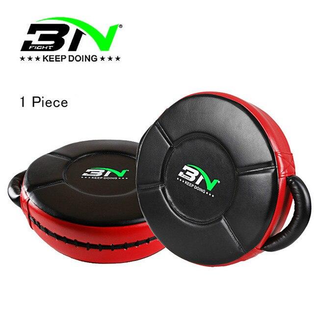 BN tapis de frappe MMA Kickboxing rond bouclier de frappe entraînement de cible Mauy Thai grand Pad cible Focus boxe gants de boxe