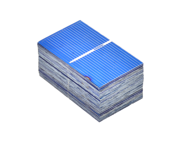 Aoshike 100Pcs Solar Panel Solar Cell 0.5V 0.27W Color Crystal Module DIY Solar Battery Charger 52x31.2MM Power Bank China 9