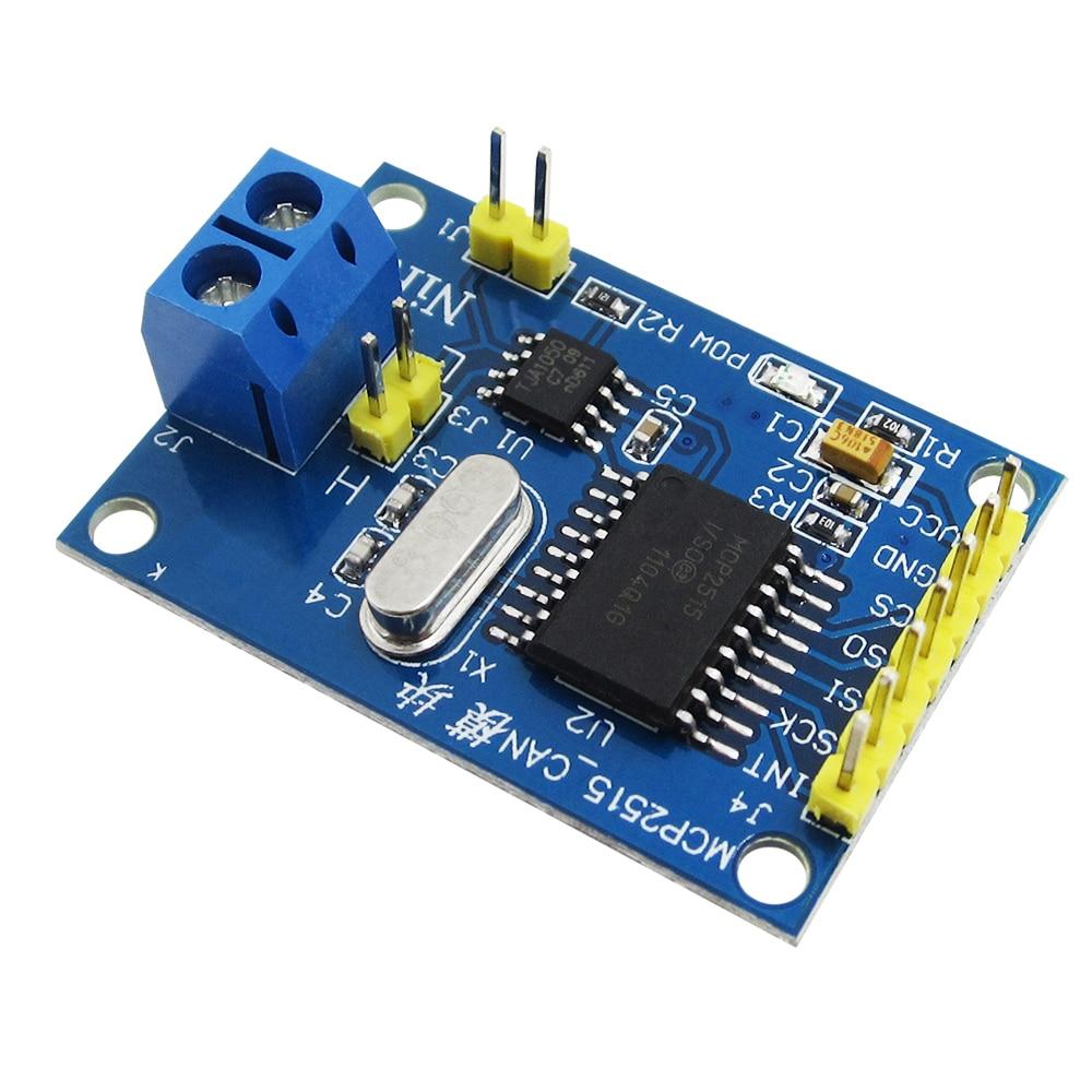 HAILANGNIAO HAILANGNIAO 1PCS MCP2515 CAN Bus Module TJA1050 Receiver SPI For 51 MCU ARM Controller