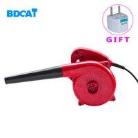 Bdcat ventilador elétrico 500w para limpeza  soprador de ar  coleta de 2 em 1  ventilador para limpeza  computador