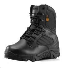 Army Male Commando Combat Desert Winter Outdoor Hiking Boots Landing Tactical Military Shoes winter leather combat boots fan of military boots high male commando outdoor climbing shoes for tactical boots lu desert boots