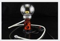 Latest Electronic Spray Lights Vaporizer Narguile Glass Chicha Hookah Shisha Chicha Smoking Tobacco Cigarette Water Pipe