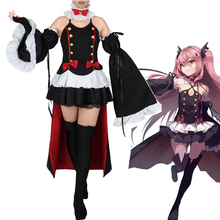 Anime Owari no Seraph (Seraph of the End: Vampire Reign) Krul Tepes Cosplay Costumes  European  size  Free Shipping все цены