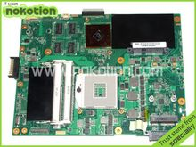 laptop motherboard for ASUS K52JT PN:60-N1WMB1100 K52JR REV 2.3 INTEL HM55 ATI hd 6300 DDR3