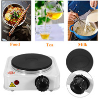 1000W Electric Burner Stove 110VUS/220V EU Quick Sustained Heat Eco friendly Hot Plate Portable Kitchen Cooker Coffee Pot Heater