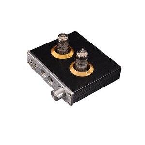 Image 5 - Луся 6N3 ламповый усилитель для наушников MAX9722 DAC аудио декодер 1300 МВт мощность для 16 600ohm наушников T0654