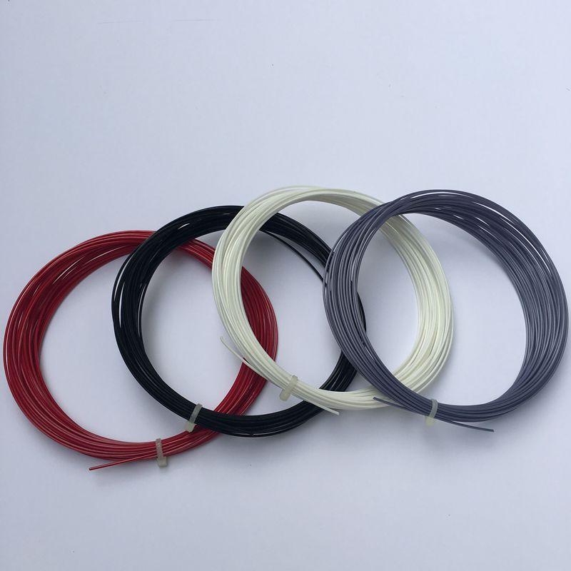 1 Pc Quality TINGKIN POWER POLYGON 17/18 Hex Polyester Strings Polyester Tennis Strings Hexagonal Hard Feeling String 12m/pc