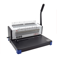 21 holes Binding Machine Stapler Manual Combs Clamps Binder Molds Book Binding machine SD 220