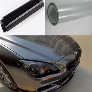 Image 2 - 2019 PU Protection Film For Headlights Tail Lights Smoke Fog Lights Film Car Light Headlight film Sheet Car Sticker dark lamp