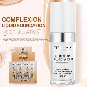 Image 1 - Жидкий тональный крем TLM 30 мл с изменением температуры, увлажняющий макияж, косметическая основа TSLM1