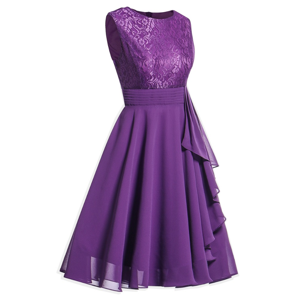 OML522L#Chiffon and Lace navy blue Short Bridesmaid Dresses Weddiong Party Dress 2018 Prom Gown Women Fashion Wholesale Clothing 15