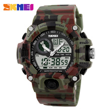 Men Sports Watches Digital Quartz LED Military Watch Multi functional Wristwatches