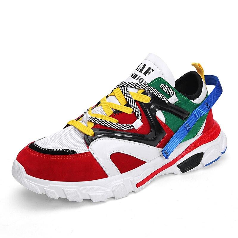 sneakers hip per 2019 traspirante scarpe nero Vesonal a confortevole marca casual hop uomo primavera piedi per maglia adulti rosso uomo estate grigio 4nx0fFzq