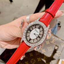 New Brand Women Fashion Jewelry Watches Vintage Oval Crystal