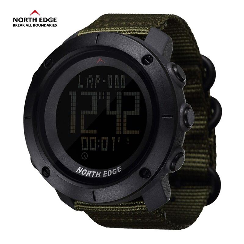 NORDEN RAND Welt Zeit Männer Sport Armee Uhren Wasserdicht 50 mt Digitale Uhr Lauf Schwimmen Uhr Tauchen Armbanduhr Montre Homme