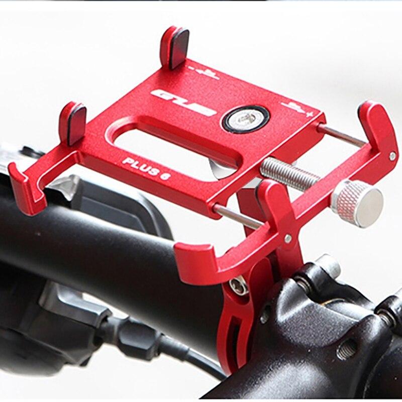 Suporte do telefone da bicicleta da bicicleta da motocicleta de Alumínio mtb estrada mountain bike moto suporte do telefone móvel celular para guiador