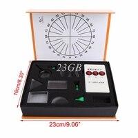2017 NEW Optical Concave Convex Lens Prism Set Physical Optical Kit Laboratory Equipment APR28 20