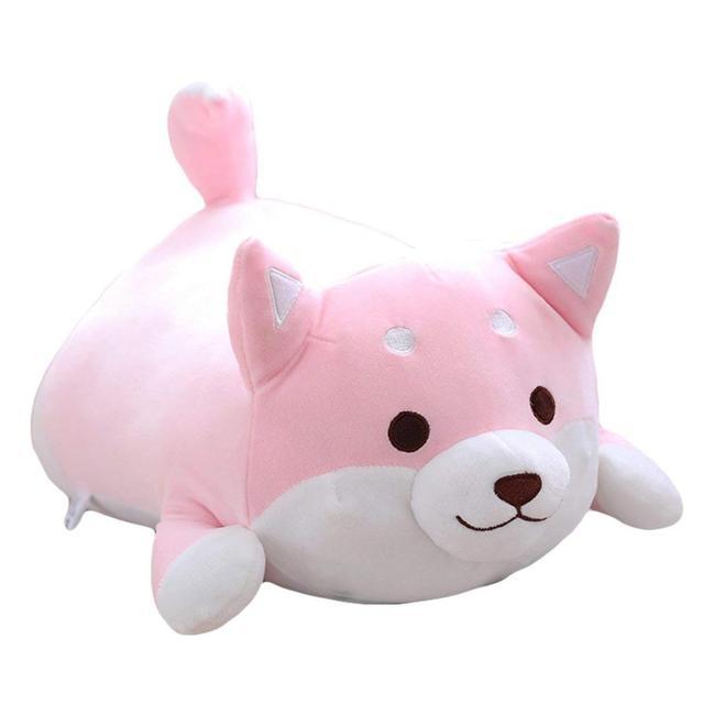 40cm Cute Funny Pink Plush Corgi Dog Butt Plush Stuffed Pillow soft Toys Home Decorations