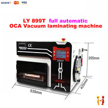 2017 new LY 899T Buit-in Vacuum Pump and Air Compressor all-in-one OCA Laminating machine Bubble Remover