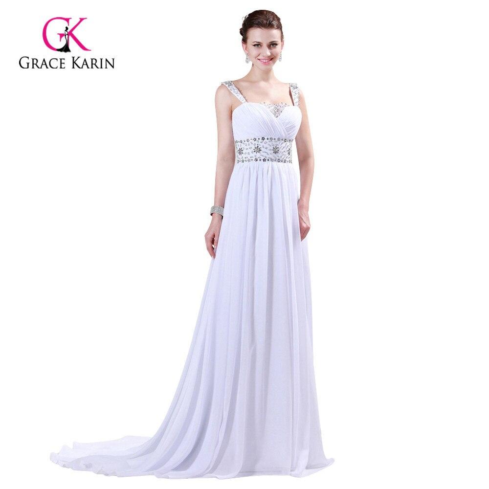ΞProm Dresses 2018 Grace Karin Strap Chiffon Floor length Long ...