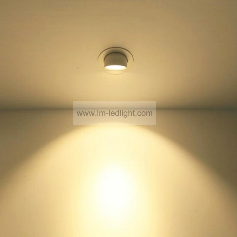 Spot de rotation led encastrable 30 W 85-265 V led bridgelux lumière encastrée lumière chaude/neutre blanc led lumières pour la maison livraison gratuite 24 pièces
